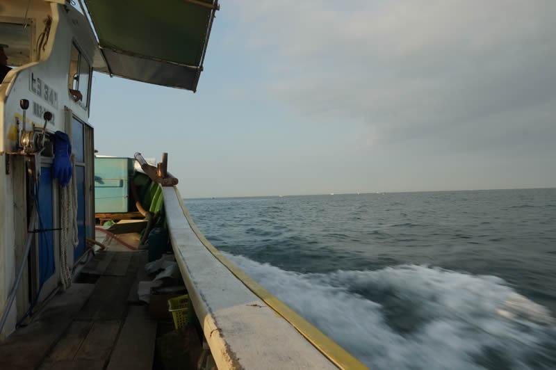 明石の鯛 ごち網漁